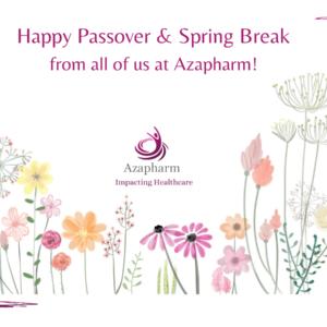 Happy Passover & Spring Break!